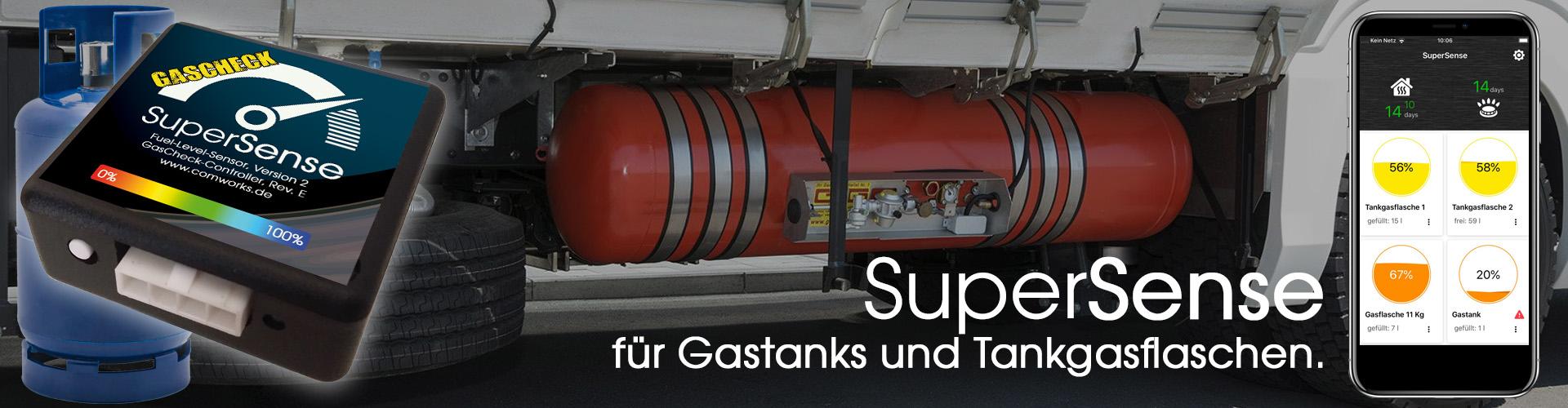 SuperSense Füllstandssensoren